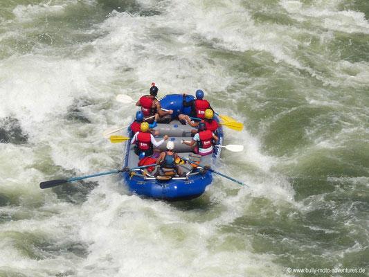 Simbabwe - White Water Rafting auf dem Sambesi
