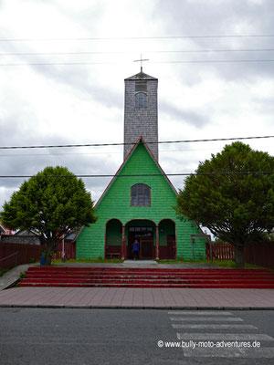 Chile - Insel Chiloé - Curaco de Vélez - Kirche Santo Judas Tadeo