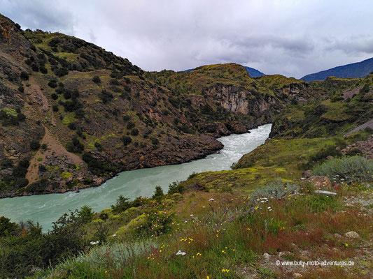 Chile - Straße 7 - Río Baker