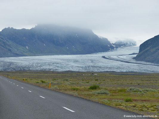 Island - Gletscherzunge im Skaftafell Nationalpark