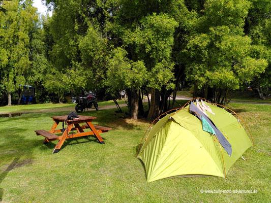 Argentinien - Parque Nacional Los Alerces - Camping Los Maitenes
