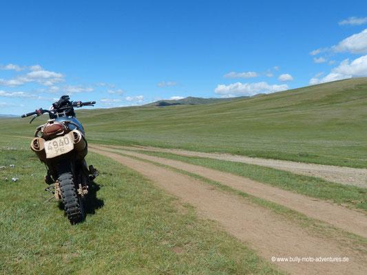Mongolei - Piste nach Khurjit