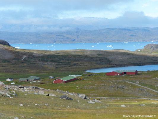 Grönland - Wanderung von Itilleq nach Igaliku - Blick auf den Tunulliarfik Fjord