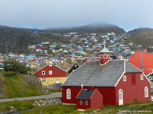 Grönland - Kirche von Qarqotoq