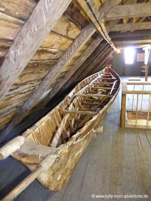 Grönland - Museum von Nanortalik - Umiak