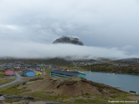 Grönland - mystische Stimmung in Narsaq