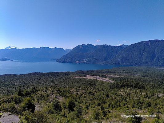 Chile - Parque Nacional Vicente Pérez Rosales - Wanderweg Paso Desolación - Lago Todos Los Santos