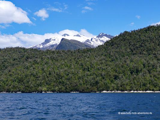 Chile - Parque Nacional Laguna San Rafael - Bootsfahrt zurück ins Valle Exploradores