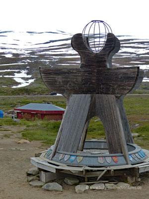 Norwegen - Straße E6 - Polarkreiszentrum