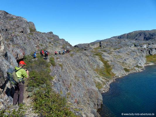 Grönland - Wanderung zum Gletscher Kiattuut Sermiat