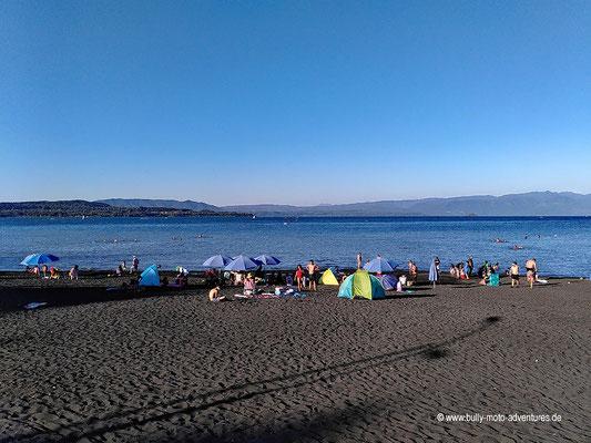Chile - Villarica - Blick auf den Lago Villarica
