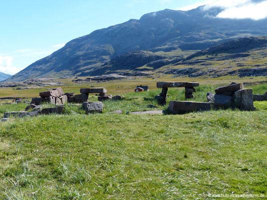 Grönland - Ruinen von Igaliku