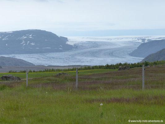 Island - Ringstraße 1 - Gletscherzunge