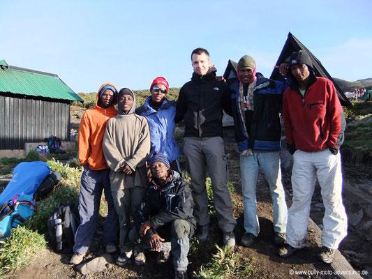 Tansania - Besteigung des Kilimanjaro - Marangu Route - Gruppenfoto