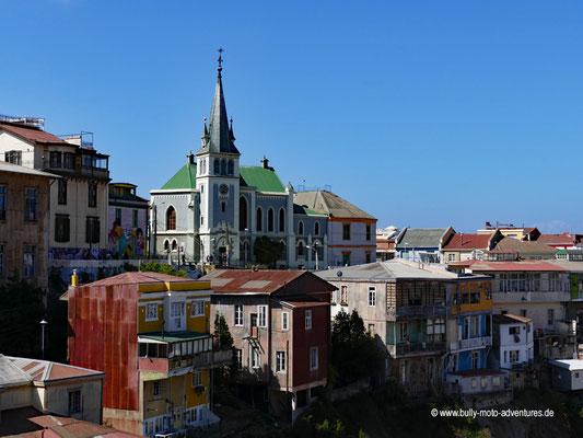 Chile - Valparíso - Iglesia Luterana Alemana