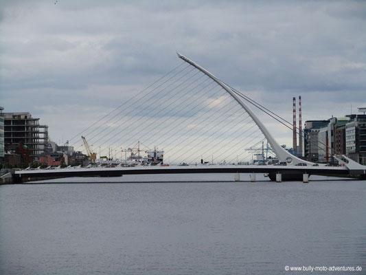 Irland - St. Beckett Bridge - Dublin - Co. Dublin
