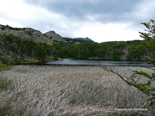 Chile - Parque Nacional Patagonia - Valle Chacabuco - Wanderweg Lagunas Altas