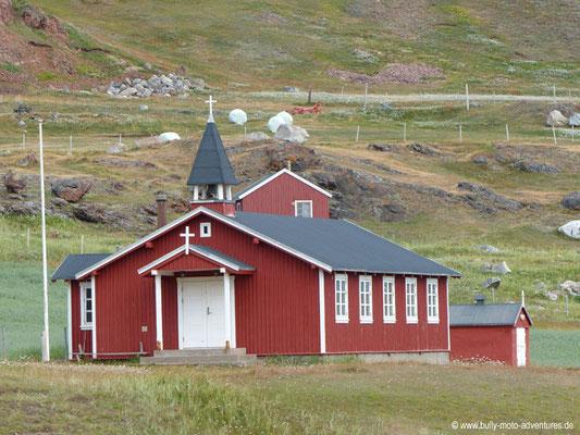 Grönland - Brattahlíð - Kirche