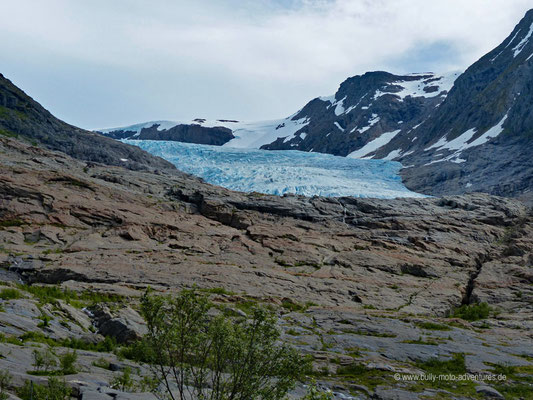Norwegen - Saltfjellet-Svartisen Nationalpark - Wanderung zum Svartisen Gletscher