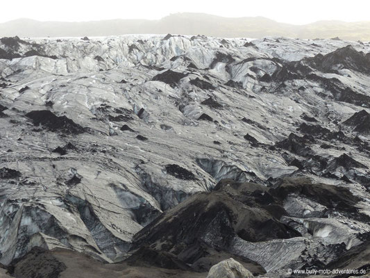 Island - Gletscher Solheimajökull