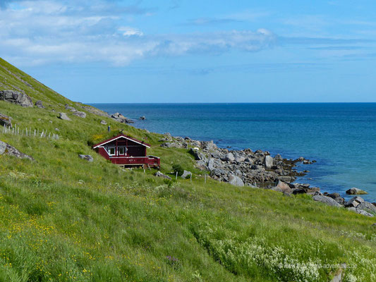 Norwegen - Lofoten - Straße Fv808