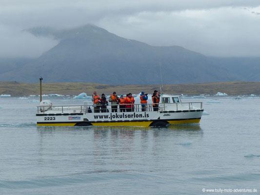 Island - Gletscherlagune Jökulsárlón - Amphibienfahrzeug