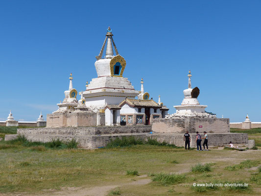 Mongolei - Kloster Erdene Zuu Khiid