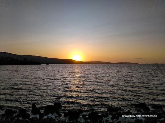 Chile - Insel Chiloé - Ancud - Sonnenuntergang