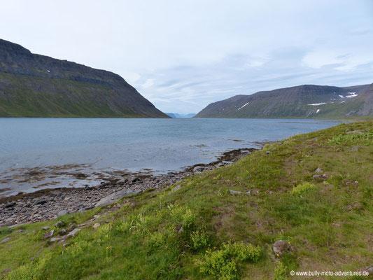 Island - Hornstrandir - Blick in den Fjord