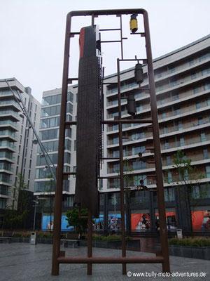 Irland - Titanic Skulptur - Belfast - Co. Antrim