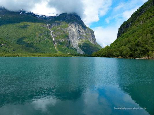 Norwegen - Jostedalsbreen Nationalpark - Fahrt zum Kjenndalsbreen