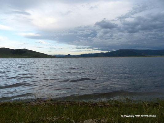 Mongolei - See Terkiin Tsagaan Nuur