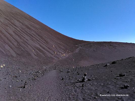 Chile - Reserva Nacional Nalcas - Wanderung zum Crater Navidad