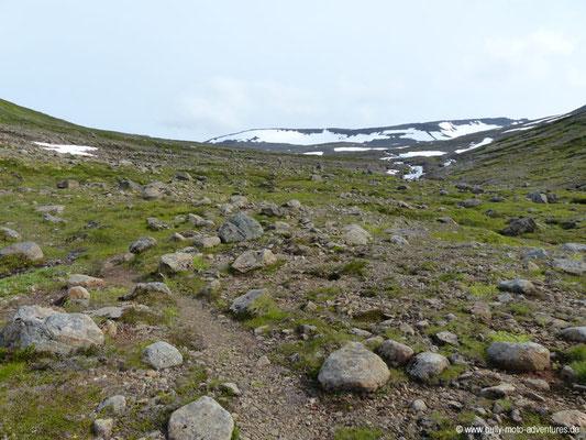 Island - Hornstrandir - Etappe 1 - Veiðileysufjörður nach Hornvík