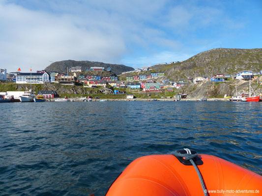 Grönland - Blick auf Qaqortoq
