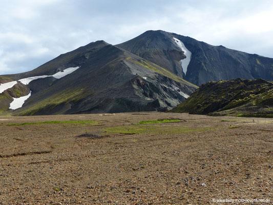 Island - Landmannalaugar - Blick auf den Bláhnúkur