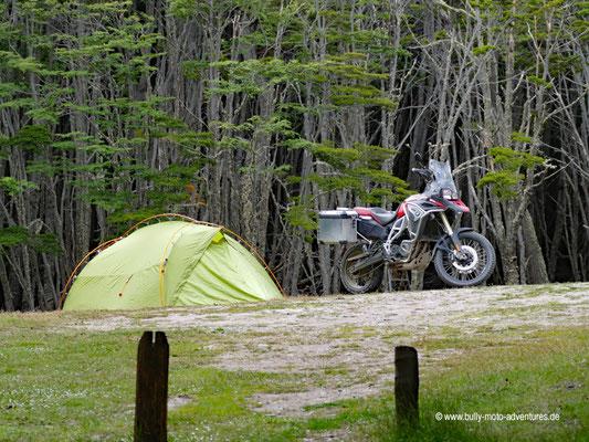 Argentinien - Parque Nacional Tierra del Fuego - Camping