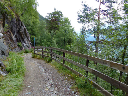 Norwegen - Wanderweg Ryes vei in Rjukan
