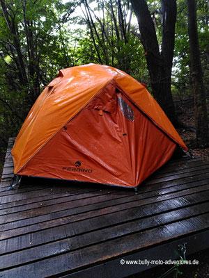 Chile - Parque Nacional Torres del Paine - W-Trek - Camping Francés