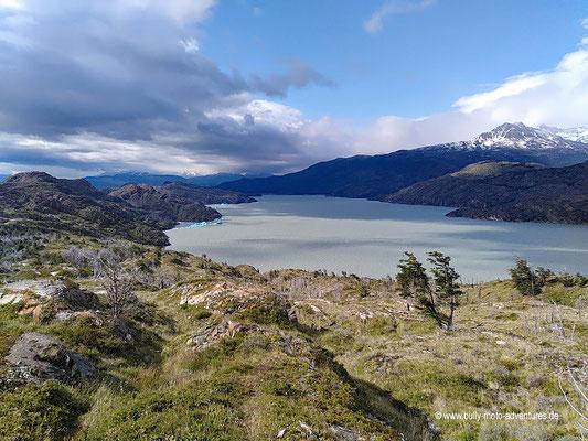 Chile - Parque Nacional Torres del Paine - W-Trek - Wanderung zum Grey Gletscher - Lago Grey