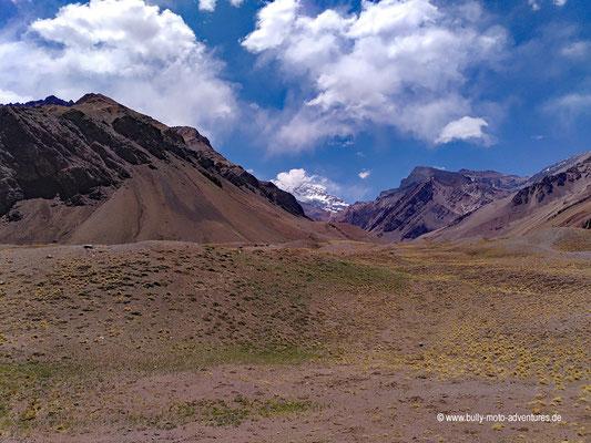 Argentinien - Mirador Aconcagua - Blick auf den Aconcagua