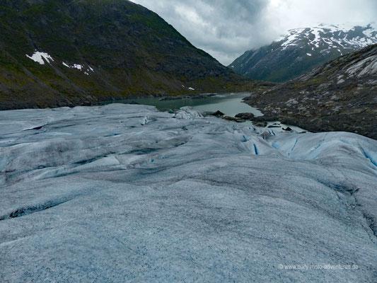 Norwegen - Jostedalsbreen Nationalpark - Wanderung auf dem Gletscher Tunbergdalsbreen
