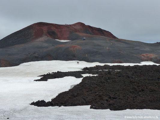 Island - Fimmvörðuháls - Lavafeld Goðahraun