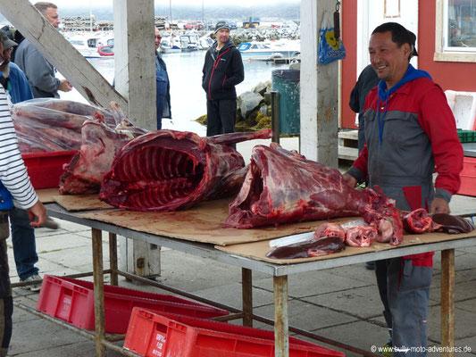 Grönland - Markt in Qaqortoq