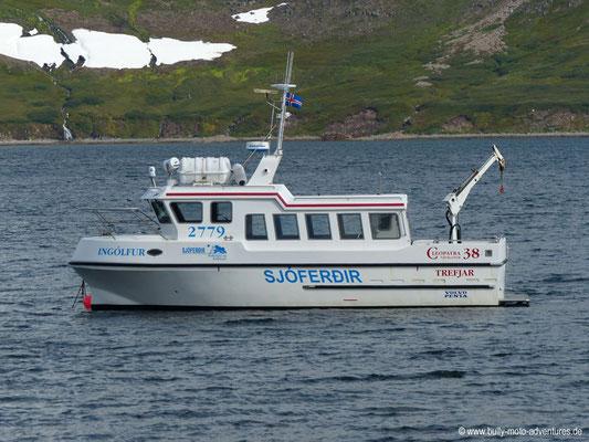 Island - Hornstrandir - Boot vor Hesteyri