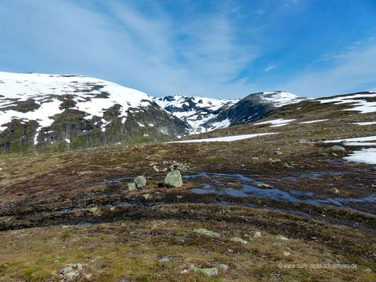 Norwegen - Landschaftsroute Aurlandsfjellet (Snøvegen)