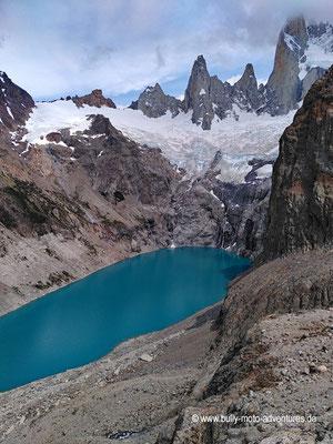 Argentinien - Parque Nacional Los Glaciares - Sendero al Fitz Roy - Laguna Sucia