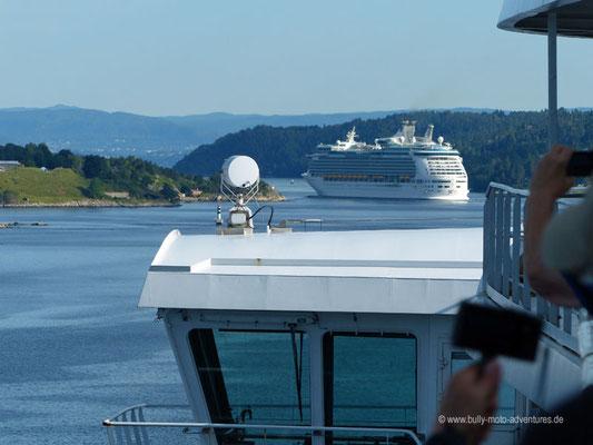 Einfahrt in den Oslo Fjord