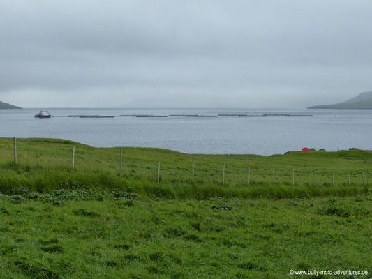 Färöer Inseln - Eysturoy - Selatrað