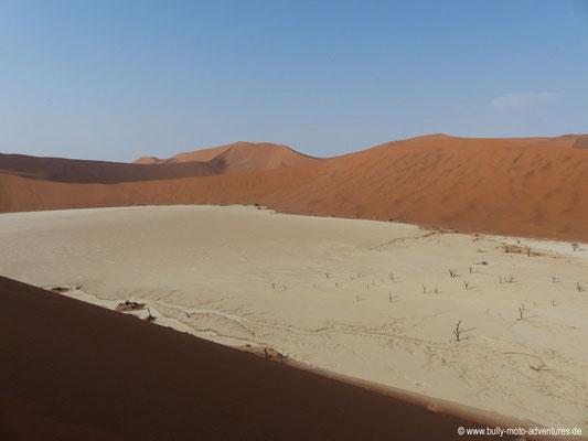 Namibia - Blick auf Dead Vlei